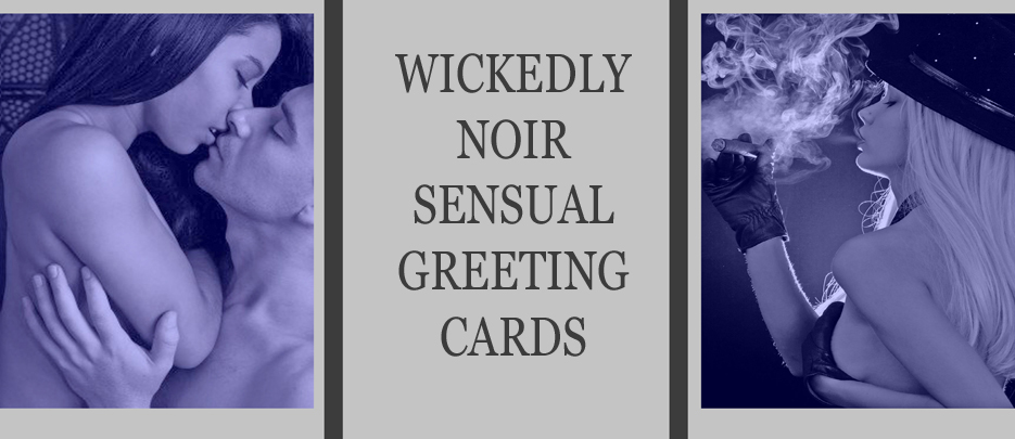 Erotic greetings cards